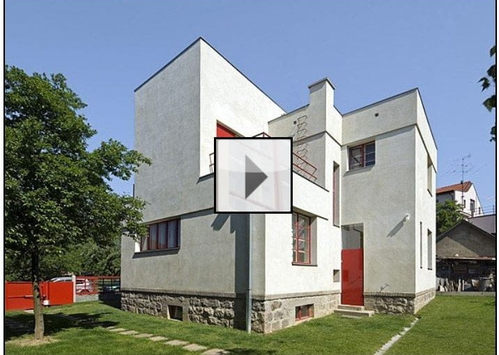 Modernistyczna willa po renowacji, proj HSH