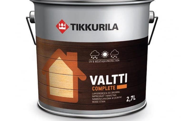 preparat dekoracyjno-impregnujący do drewna, odporny na ścieranie, ok. 43 zł/1 l, Tikkurila