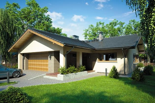 projekt domu, odm jednorodzinny