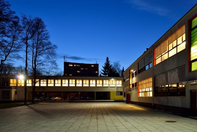 Wyremontowany budynek 3 Liceum Ogólnokształcącego w Tychach
