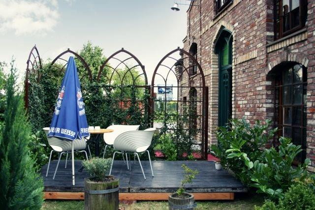 mały ogród, inspiracje, design