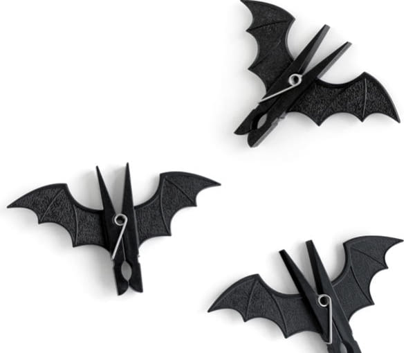 Nietoperze na klamerkach