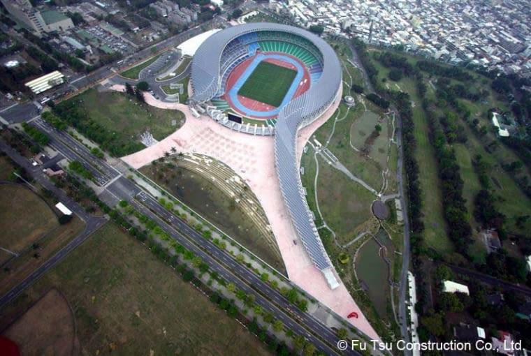 Stadion narodowy Kaohsiung, Tajwan, Chiny, 2009, proj. Toyo Ito