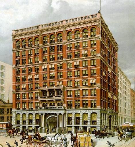 The Home Insurance Building, zdjęcie w domenie publicznej