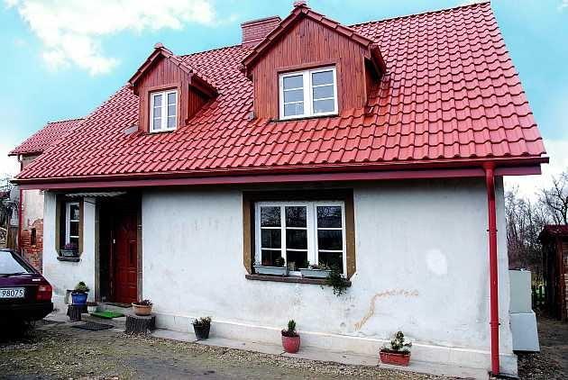 remont starego domu, ściany zewnętrzne, dach
