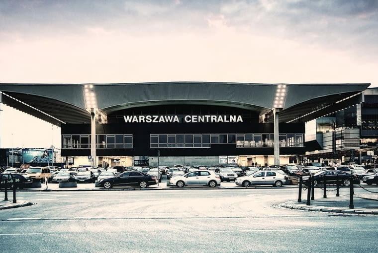 Dworzec Centralny w Warszawie - architektura Warszawy