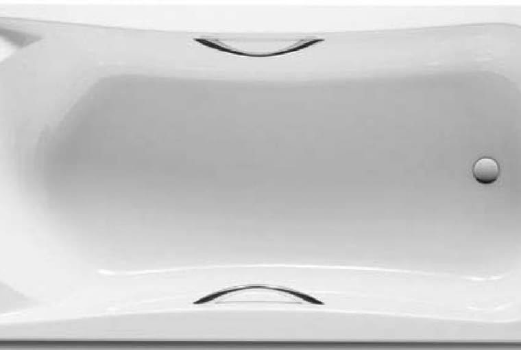 BeCool 170/ROCA. Wanna akrylowa z profilowanym oparciem na plecy i łokcie, z podgłówkiem; chromowane uchwyty umożliwiają łatwe wychodzenie z wanny; zestaw zawiera regulowane nóżki, pozwalające dopasować wysokość wanny do potrzeb; wymiary 170 x 80 cm. Cena (netto): 2900 zł, www.roca.pl