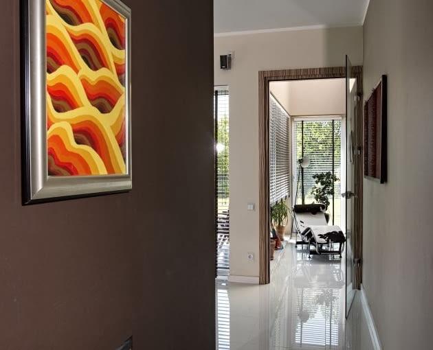 dom jednorodzinny, domy zdjęcia, hol, korytarz