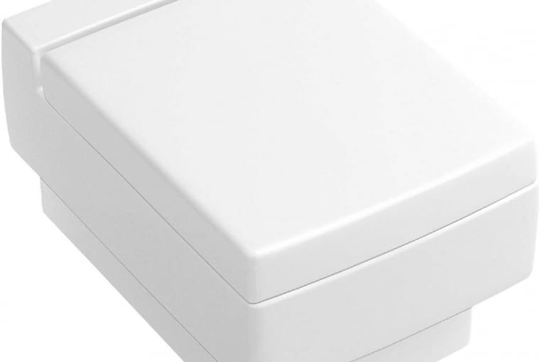 Memento/VILLEROY&BOCH. Miska lejowa podwieszana z ceramiki sanitarnej; ilość wody spłukującej 3/6 l; wymiary: 37,5 x 56 cm. Cena: 2200 zł, www.villeroy-boch.pl