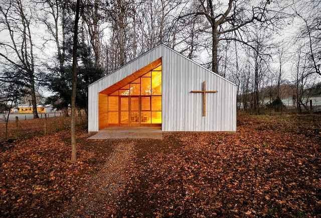 architektura sakralna, kościół, drewno, chile