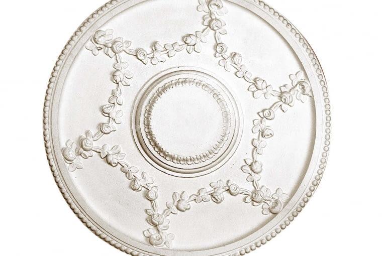 Wzór R200 inspirowany rozetami z polskich i francuskich pałaców, śr. 55 cm, na zamówienie, sztukateria.biz