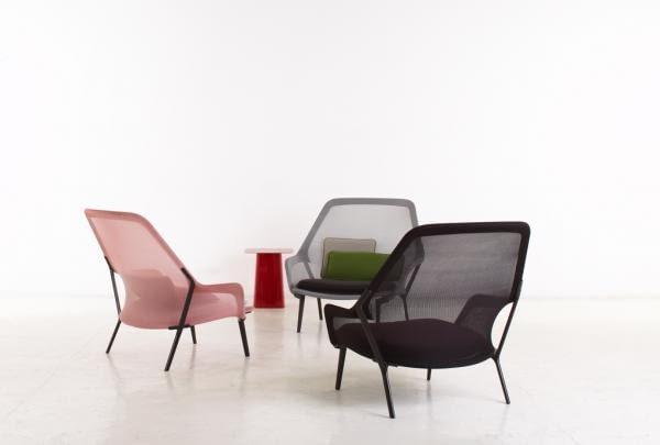 Slow chair; projekt: bracia Bouroullec dla Vitra