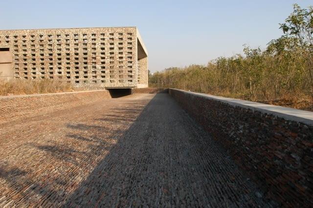 Ceramiczny Dom w Jinhua, 2003-2006
