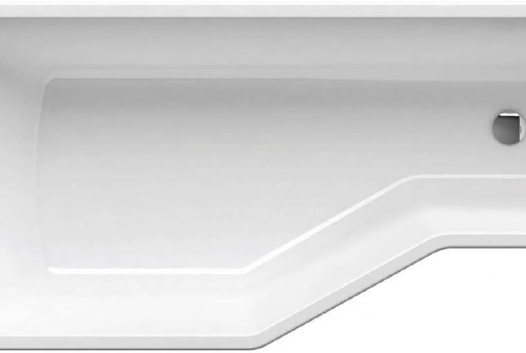 BeHappy/RAVAK. Materiał: akryl Lucite w kolorze snowwhite, wzmocnienie laminatem; asymetryczna; pasuje do niej trzyczęściowy, składany parawan; wymiary: 150 x 75, 160 x 75, 170 x 75 L/R; dożywotnia gwarancja.