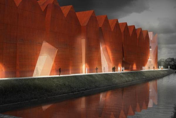 II Nagroda 50.000 Euro - praca nr 125- numer identyfikacyjny 11092109 - Piotr Płaskowicki & Partnerzy Architekci, Warszawa, Polska.