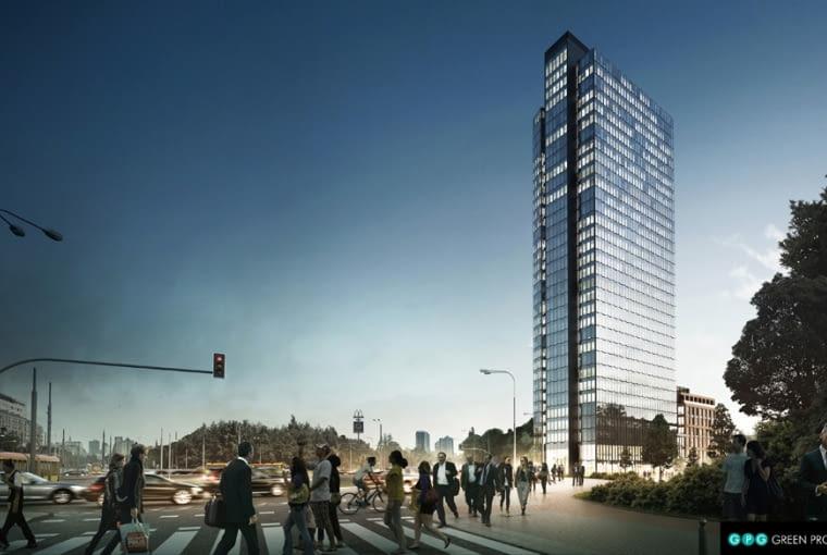 Ten wieżowiec ma powstać w sąsiedztwie ronda Radosława