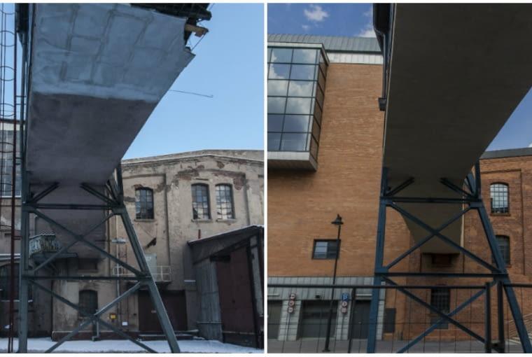 EC1 w Łodzi - zdjęcia przed i po