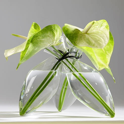 szklany wazon, szkło