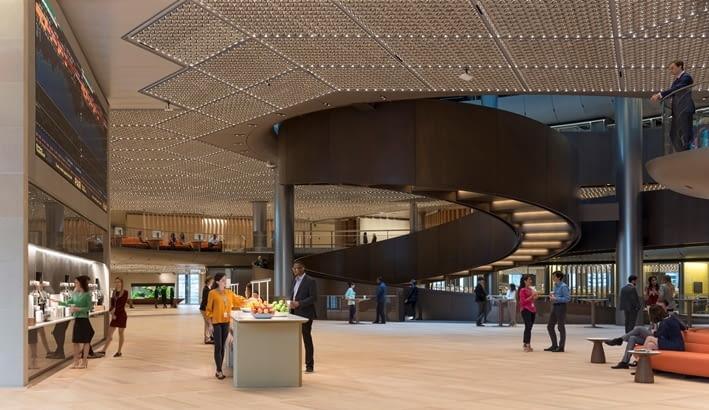 Siedziba Bloomberg w Londynie; proj. Foster + Partners