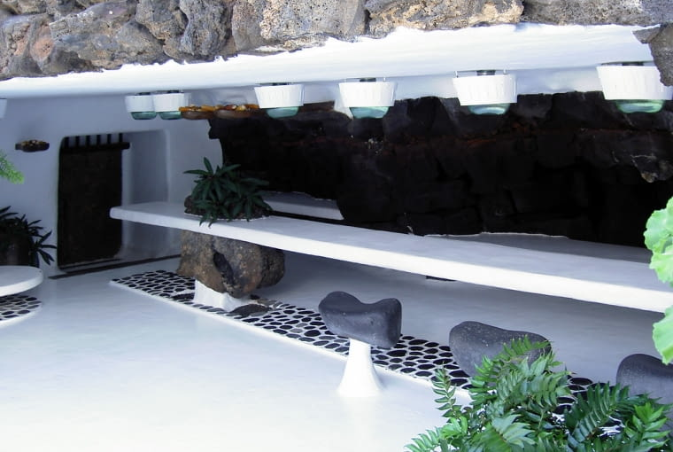 Dom Césara Manrique na Lanzarote - obecnie siedziba fundacji jego imienia.