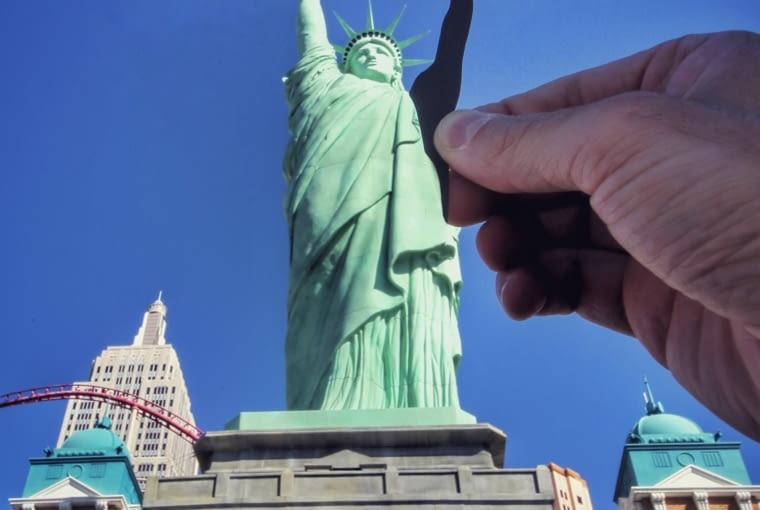 Statua Wolności w New York Resort w Las Vegas, USA
