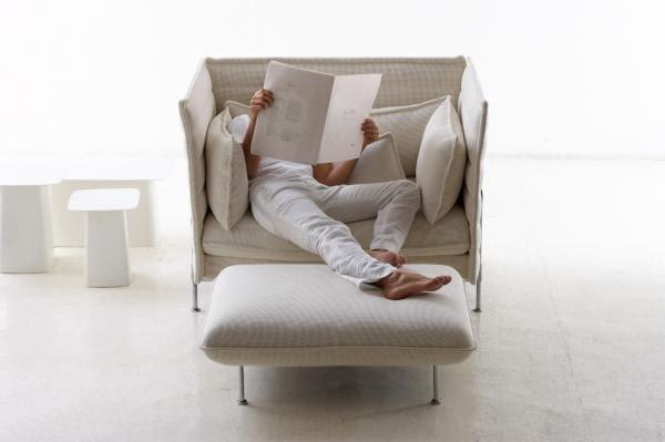 siedzisko i sofa; projekt: bracia Bouroullec dla Vitra