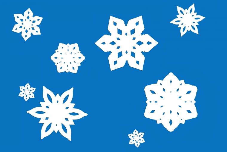 Świąteczne gwiazdki z papieru