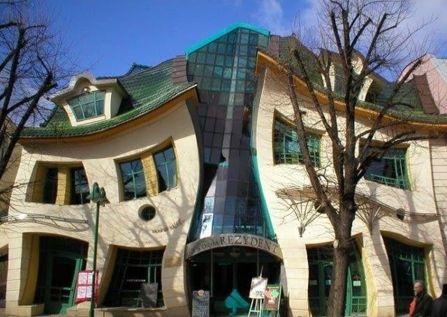 Tzw. Krzywy Domek w Sopocie