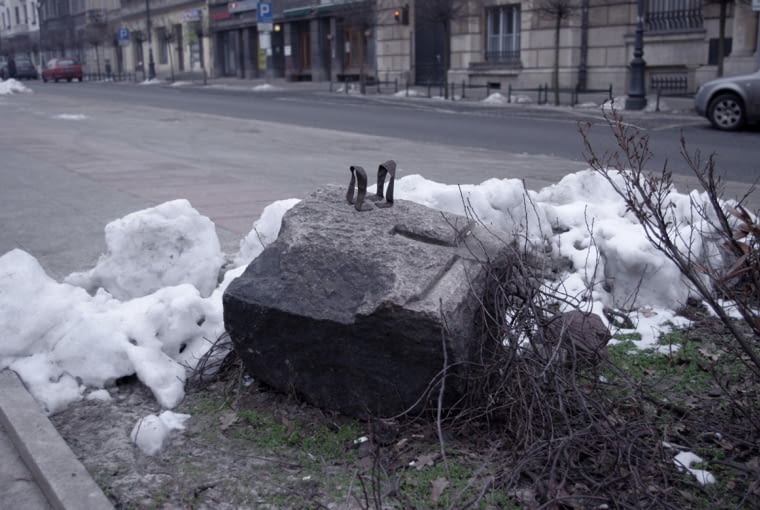 """The weight of life"", Kraków, Polska 2013"