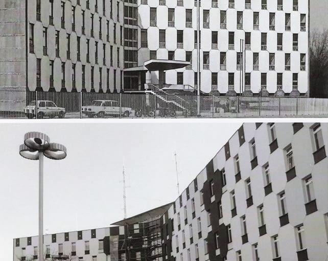 Budynek policji w Częstochowie dawniej i dziś