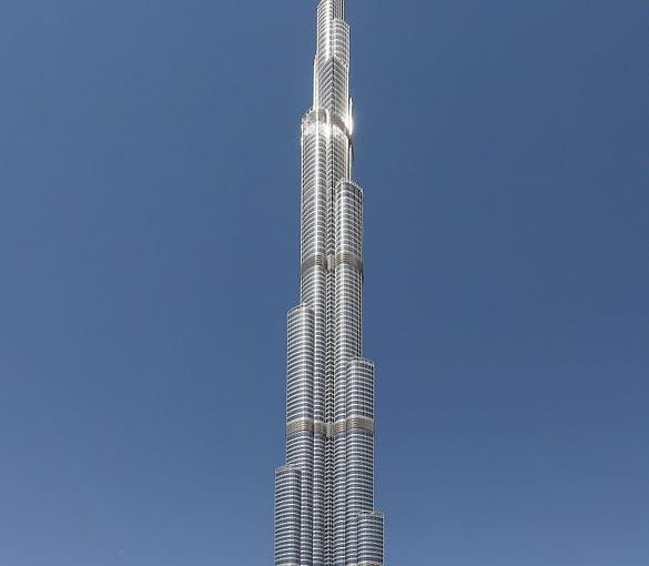 Burdż Chalifa, Dubaj, fot. Donaldytong (Wikimedia, CC BY-SA 3.0)