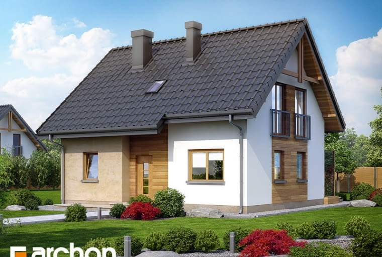Dom w zielistkach
