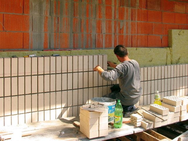 ściany zewnętrzne,ściany trójwarstwowe