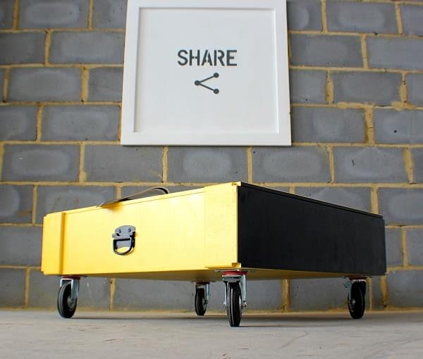 Crateive, meble ze skrzyń, polski projekt, polski design