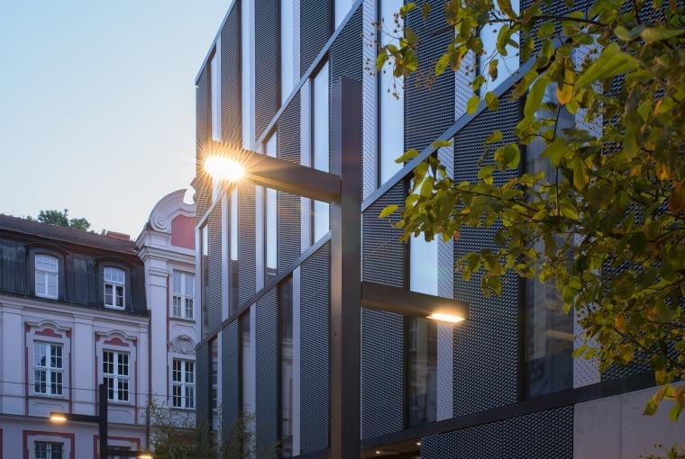 'Lampa w ciąży' - w jednej z lamp stojącej przy biurowcu Za bramką w Poznaniu zalęgły się sikorki