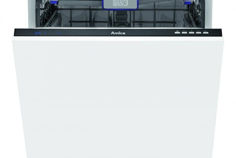 ZIM 678E, klasa A, szer. 60 cm, 8 programów, opóźniony start, regulowane kosze, około 1499 zł, Amica