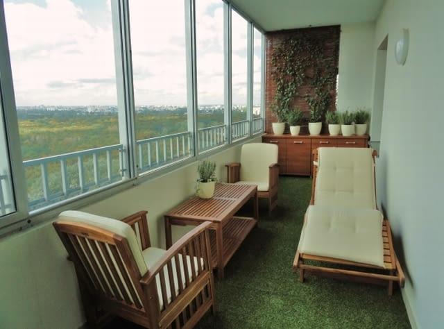 Aranżacje balkonów