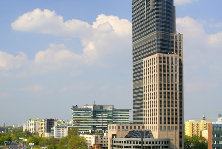 Warsaw Trade Center na warszawskiej Woli