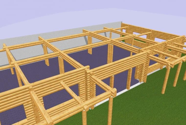 Dom z bali - jeden ze sposobów budowy