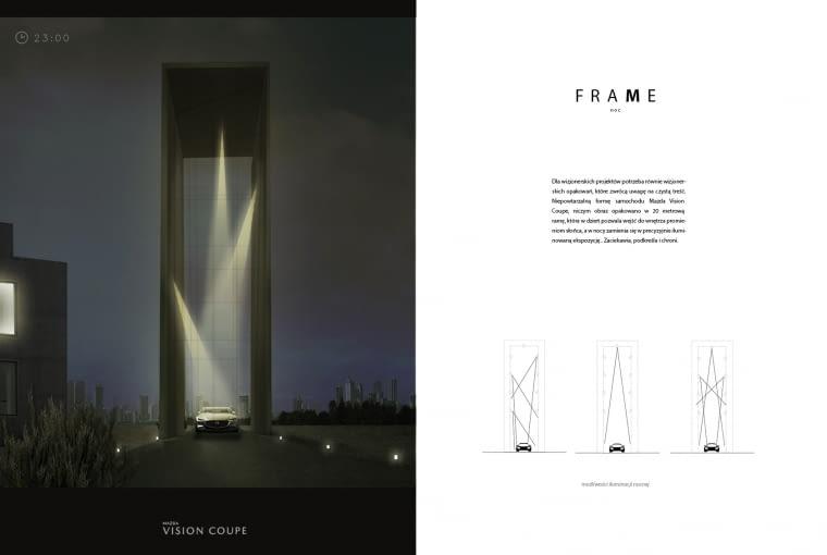 Projekt 'FRAME', autorstwa Agnieszki Konopki