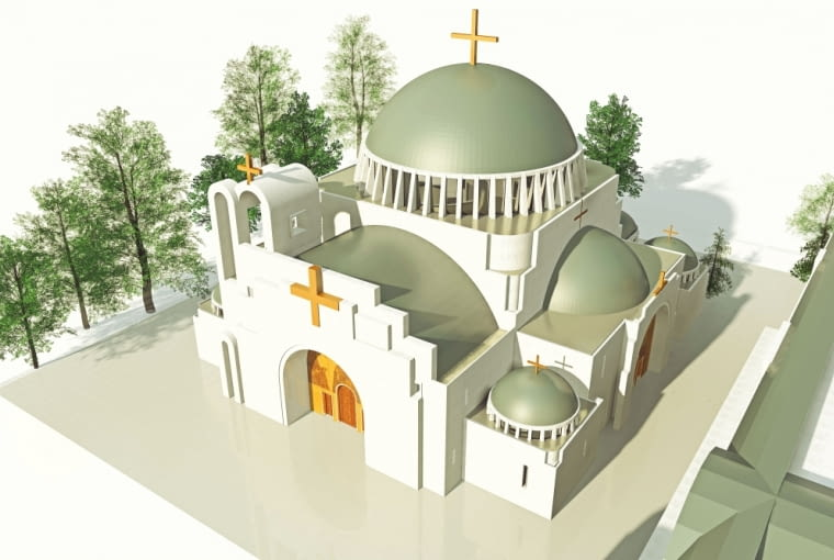 Projekt pierwszej od 100 lat cerkwi w Warszawie