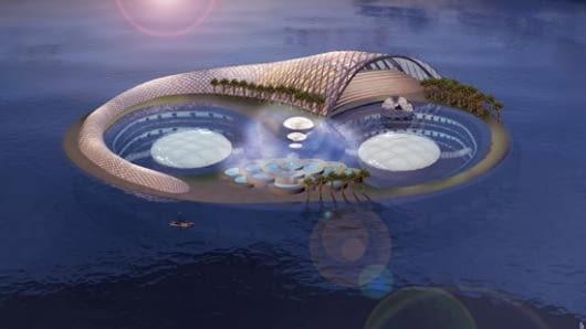 Hydropolis, Dubai, ZEA, proj. Joachim Hauser