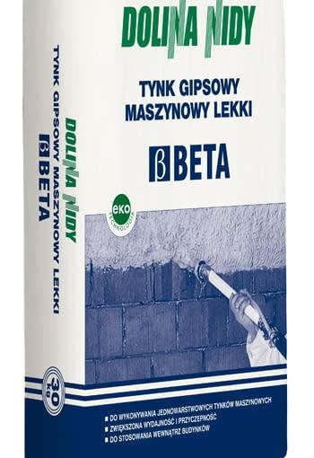 Tynk Gipsowy Maszynowy Lekki Beta Dolina Nidy, cena 21,45 zł/opakowanie 30 kg