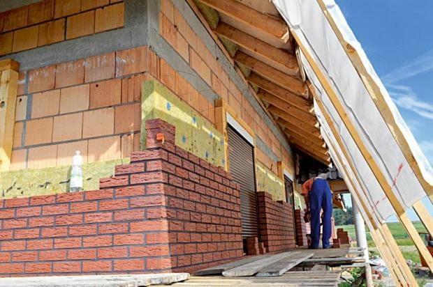 ceramika budowlana, ściany zewnętrzne, pustaki