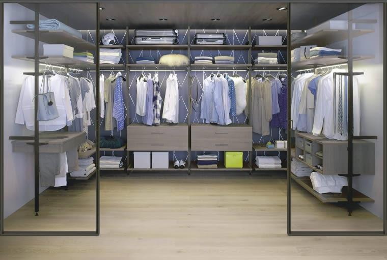 Modułowa garderoba