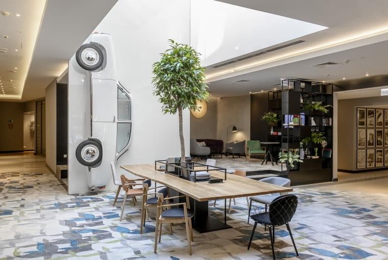 Hotel Mercure Warszawa Grand. Proj. EC-5