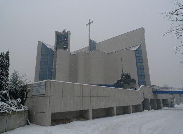 Kościół św. Jadwigi Królowej w Krakowie (ul. Łokietka), fot. Anna Cymer
