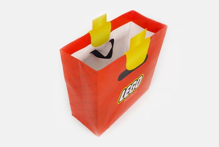 Ta torba zmienia dłonie w LEGO