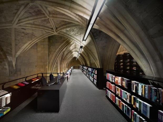 Maastricht, biblioteka, kościół