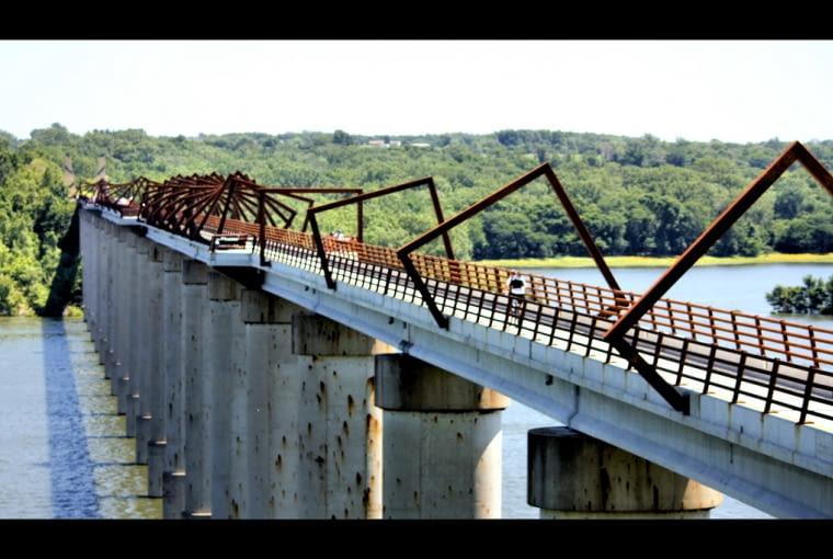 Most High Trestle Trail w Boone County w stanie Iowa